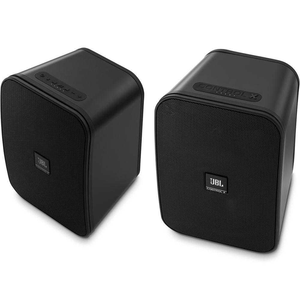 JBL Control X Bluetooth Wireless Speakers (Gray)