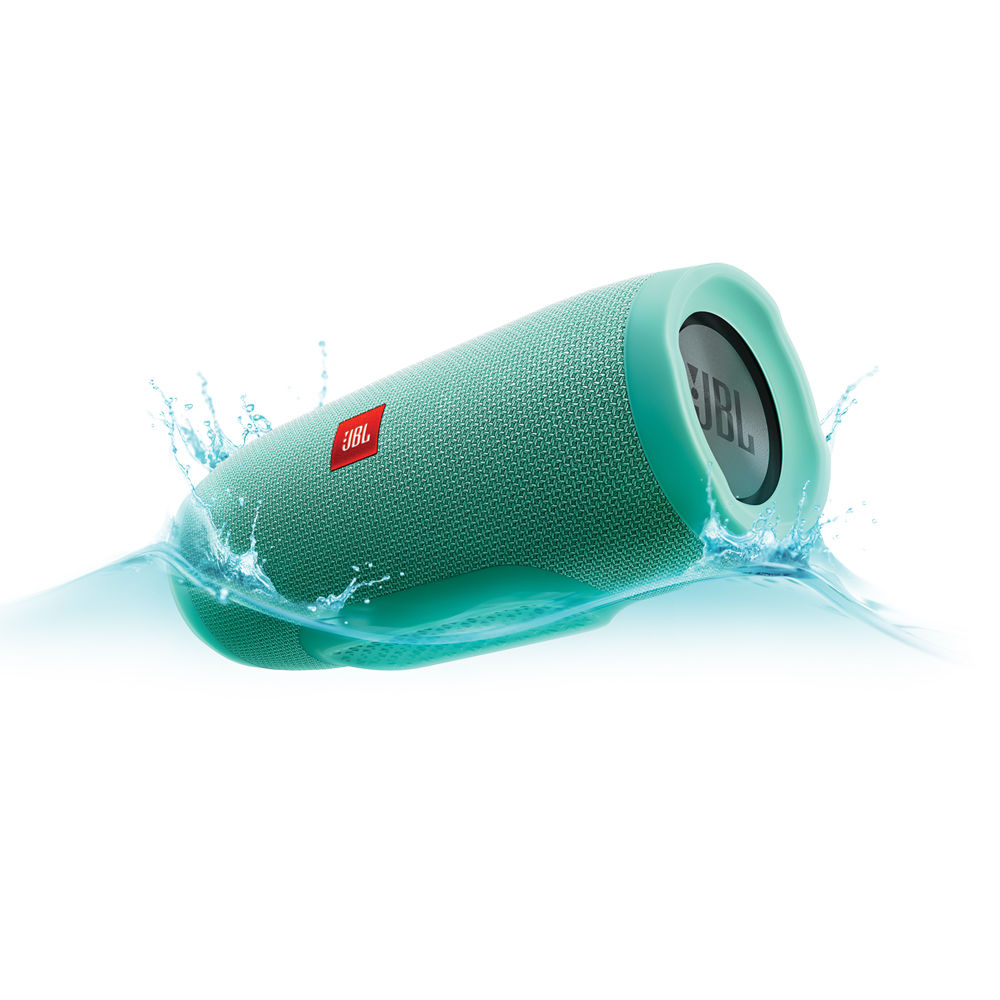 JBL Charge 3 Portable Bluetooth Stereo Speaker (Teal)