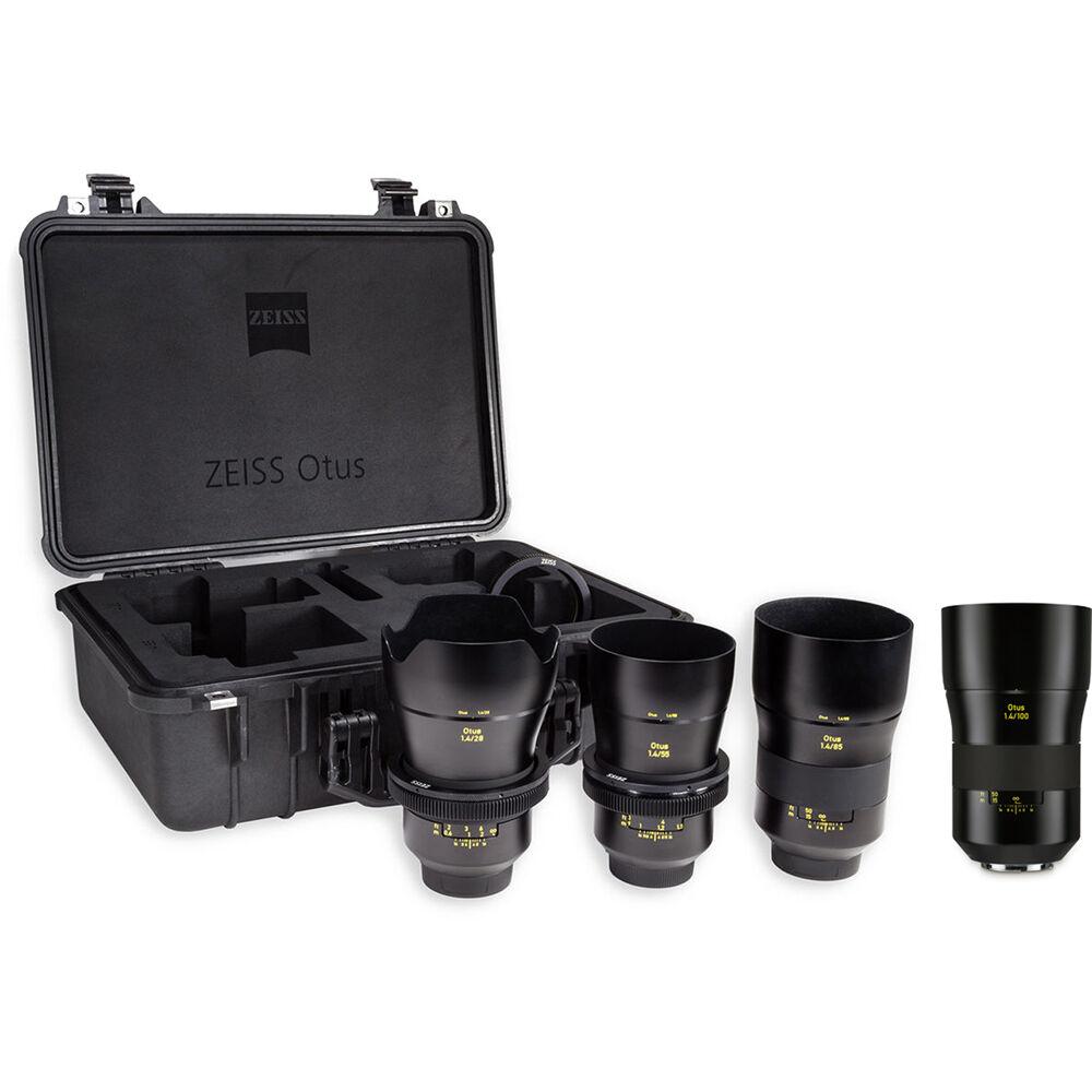 scegli autentico vasto assortimento economico in vendita ZEISS Otus ZE 3-Lens Bundle for Canon EF