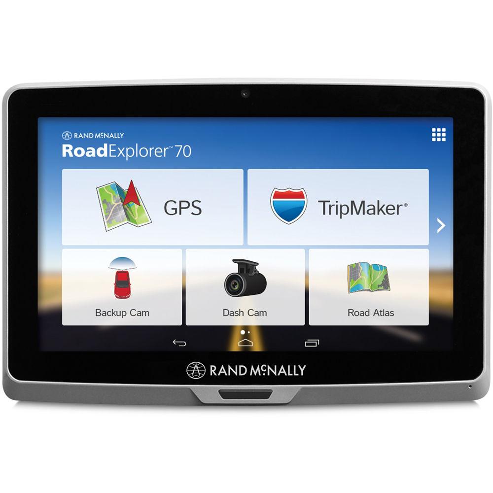 Rand Mcnally Gps >> Rand Mcnally Road Explorer 70 Gps Tablet