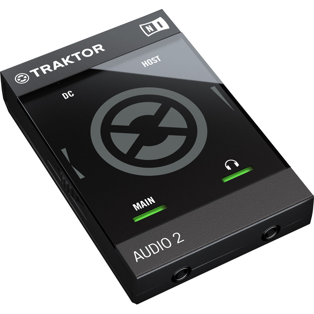 Native Instruments TRAKTOR AUDIO 2 Portable DJ Interface