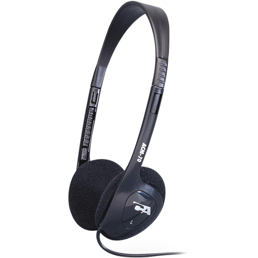 Cyber Acoustics Stereo Headset W// Single Plug 20 Wired Mini-phone Stereo