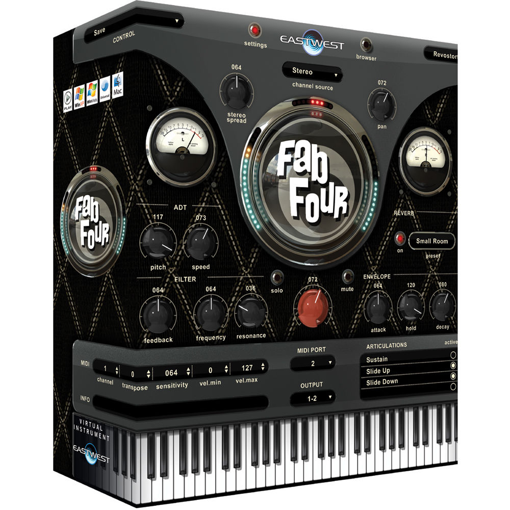 EastWest Fab Four - Virtual Instrument (Download) EW-170D B&H