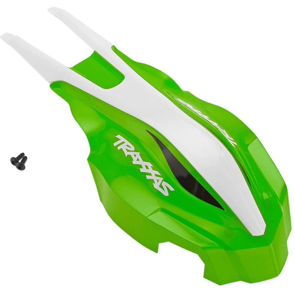 Traxxas 7914 Green//White Aton Front Canopy