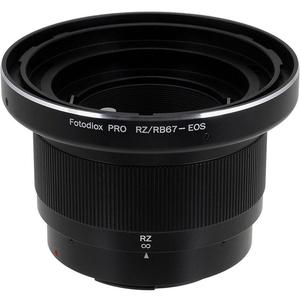 FotodioX Pro Lens Mount Adapter for Mamiya RB67/RZ67 Lens to Canon EF-Mount  Camera