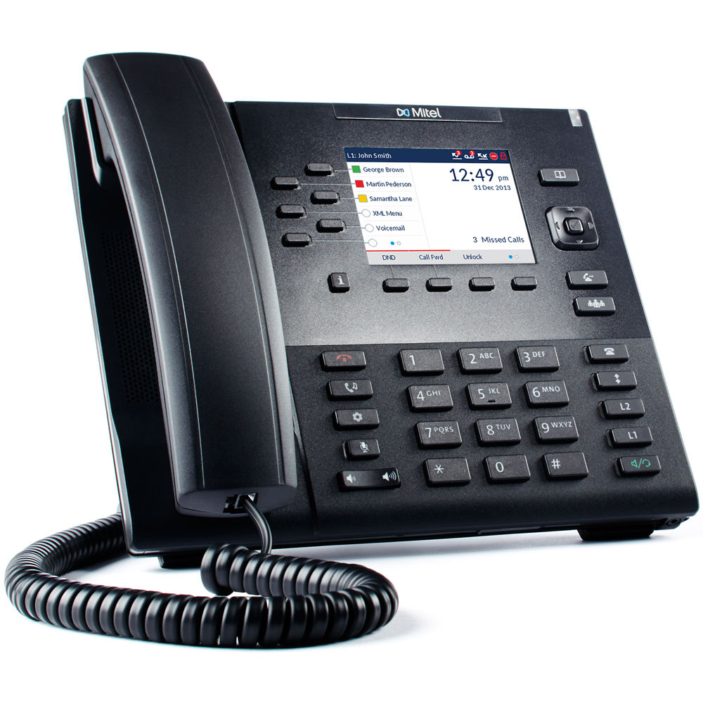 Mitel Aastra 6867i Expandable SIP Desktop Phone with Color Display