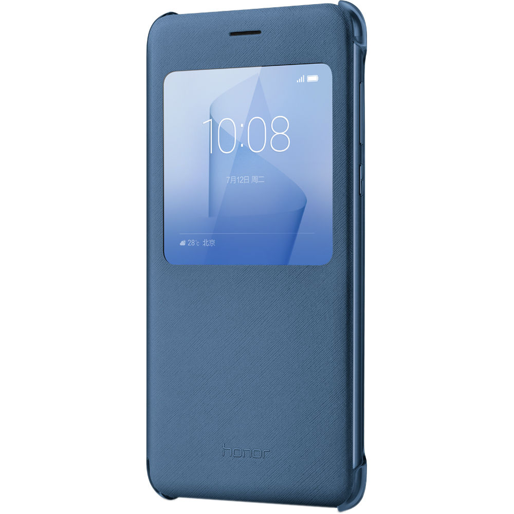 buy online 22669 91d09 Huawei Honor 8 Flip Cover Case (Blue)