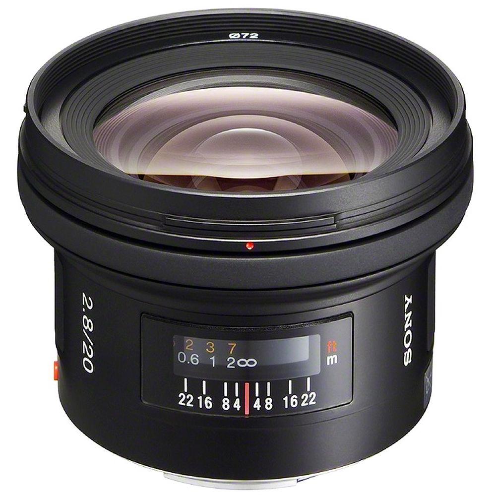 Sony 20mm f/2 8 Lens