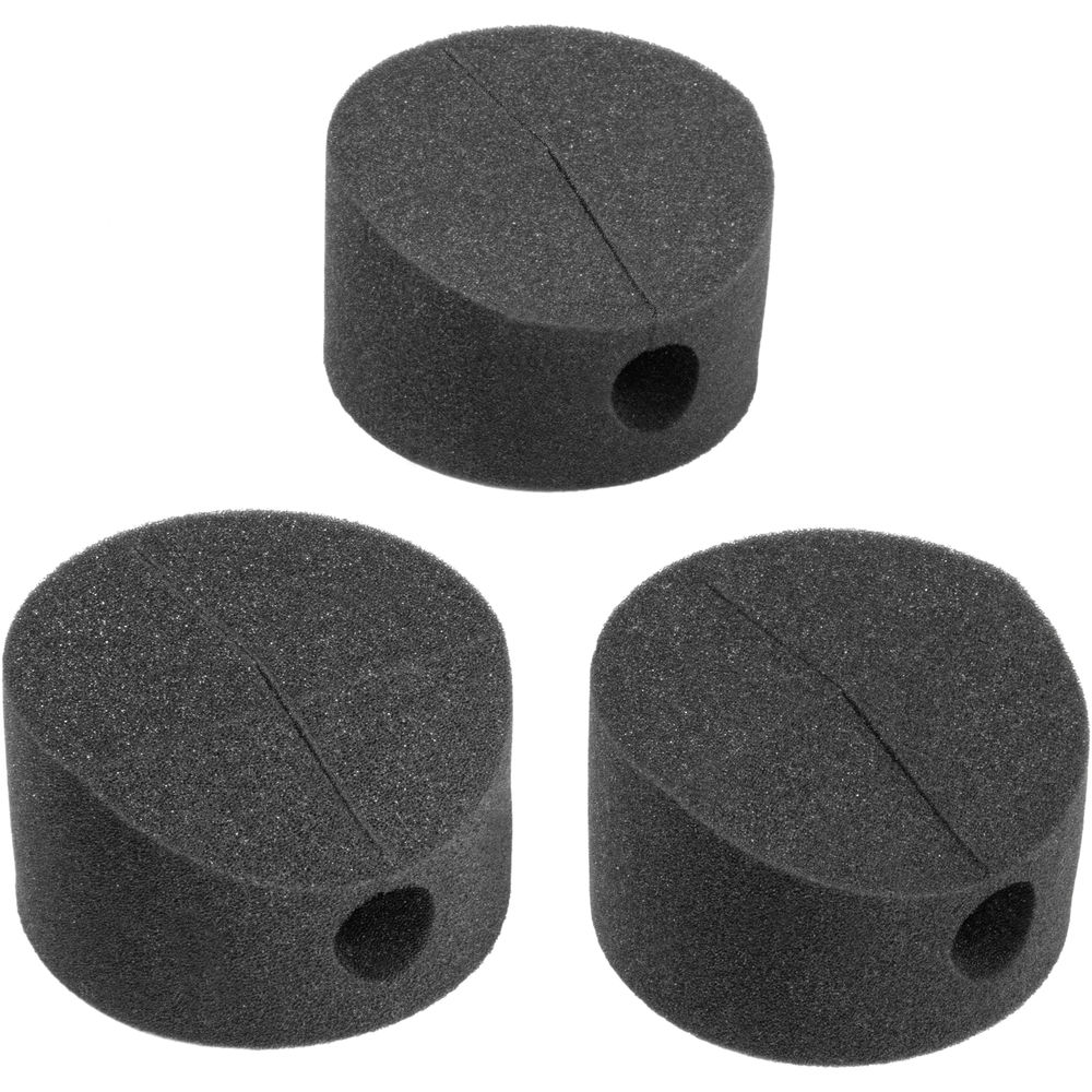decoupling pads to absorb shock