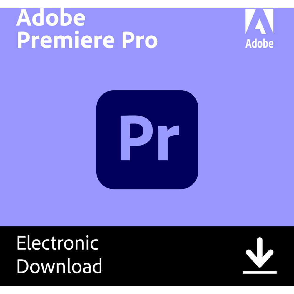 Adobe Premiere Pro CC (1-Year Subscription, Download)