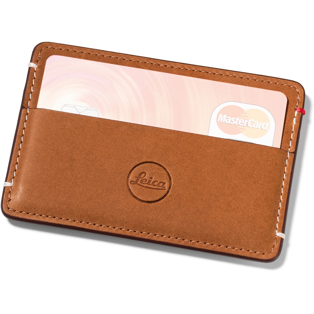 Leica Leather Cardholder #96456 Close-Out Pricing!