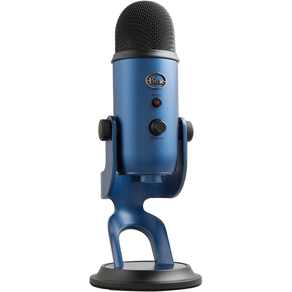 Blue Yeti USB Microphone (Midnight Blue)