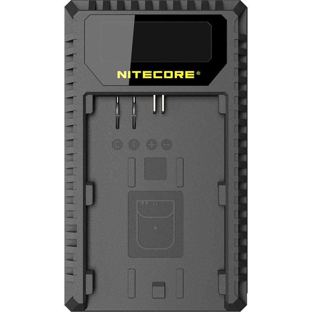 Nitecore UCN1 Dual-Slot USB Travel Charger for Canon LP-E6, LP-E6N, and  LP-E8 Lithium-Ion Batteries
