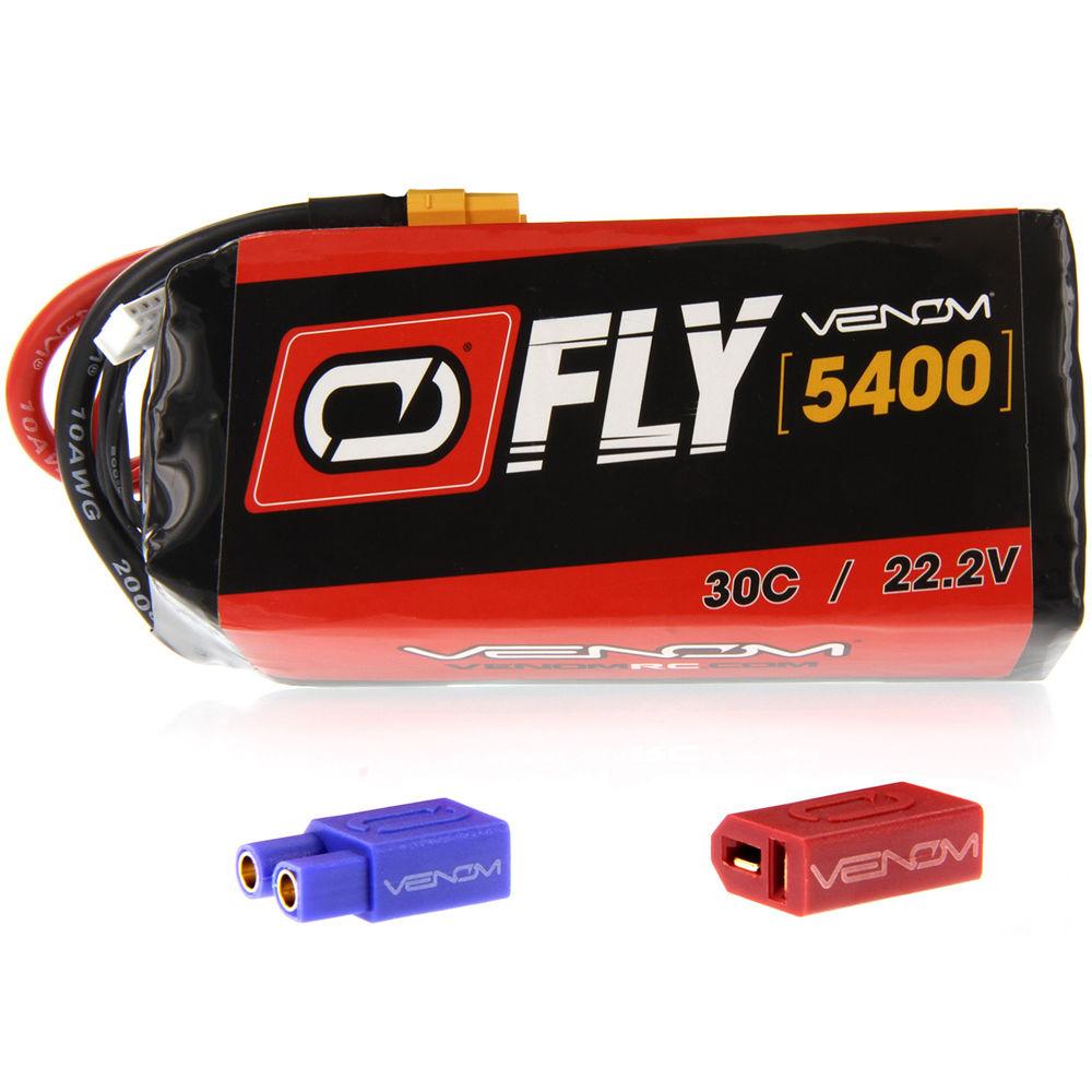 Venom Group Venom FLY 30C 6S 5400mAh 22 2V LiPo Battery with UNI 2 0 Plug