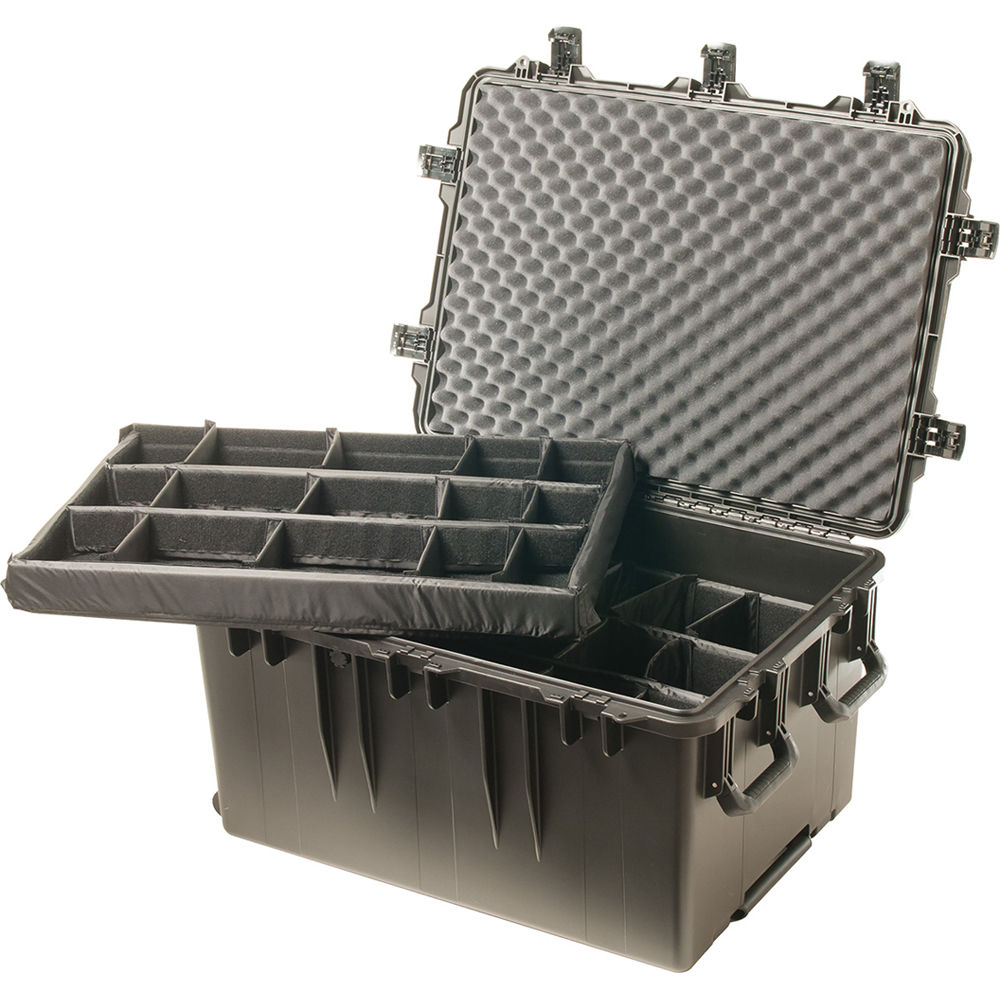 Pelican Wheeled iM3075 Storm Transport Case with Padded Dividers (Black)