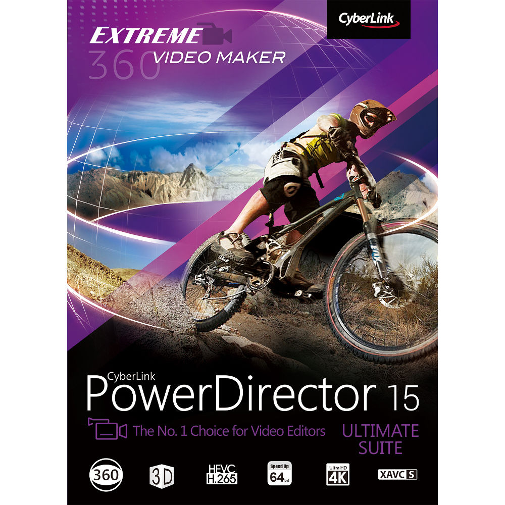 CyberLink PowerDirector 15 Ultimate (Download)