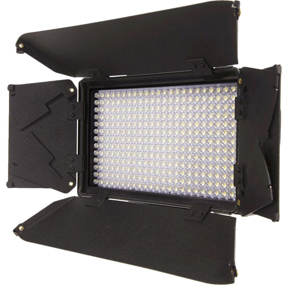 iKan Corporation 312 Bulb On-Camera Bi-Color LED Light Black, iLED312