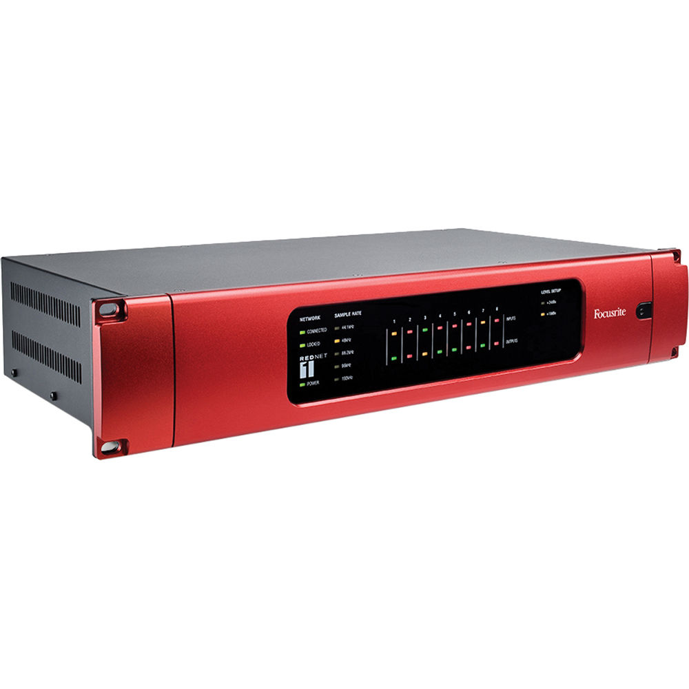 Focusrite RedNet 1, 8-Channel Audio Interface with Brooklyn 2 Upgrade Card  Retrofit