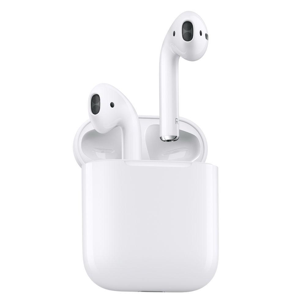 42911ef30fa Apple AirPods Wireless Bluetooth Earphones MMEF2AM/A B&H Photo