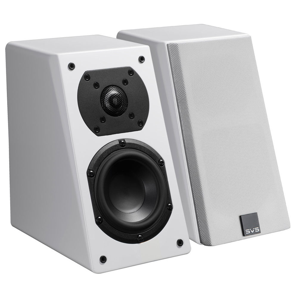 SVS Prime Elevation 2-Way Atmos Add-On Speakers (Piano Gloss White, Pair)
