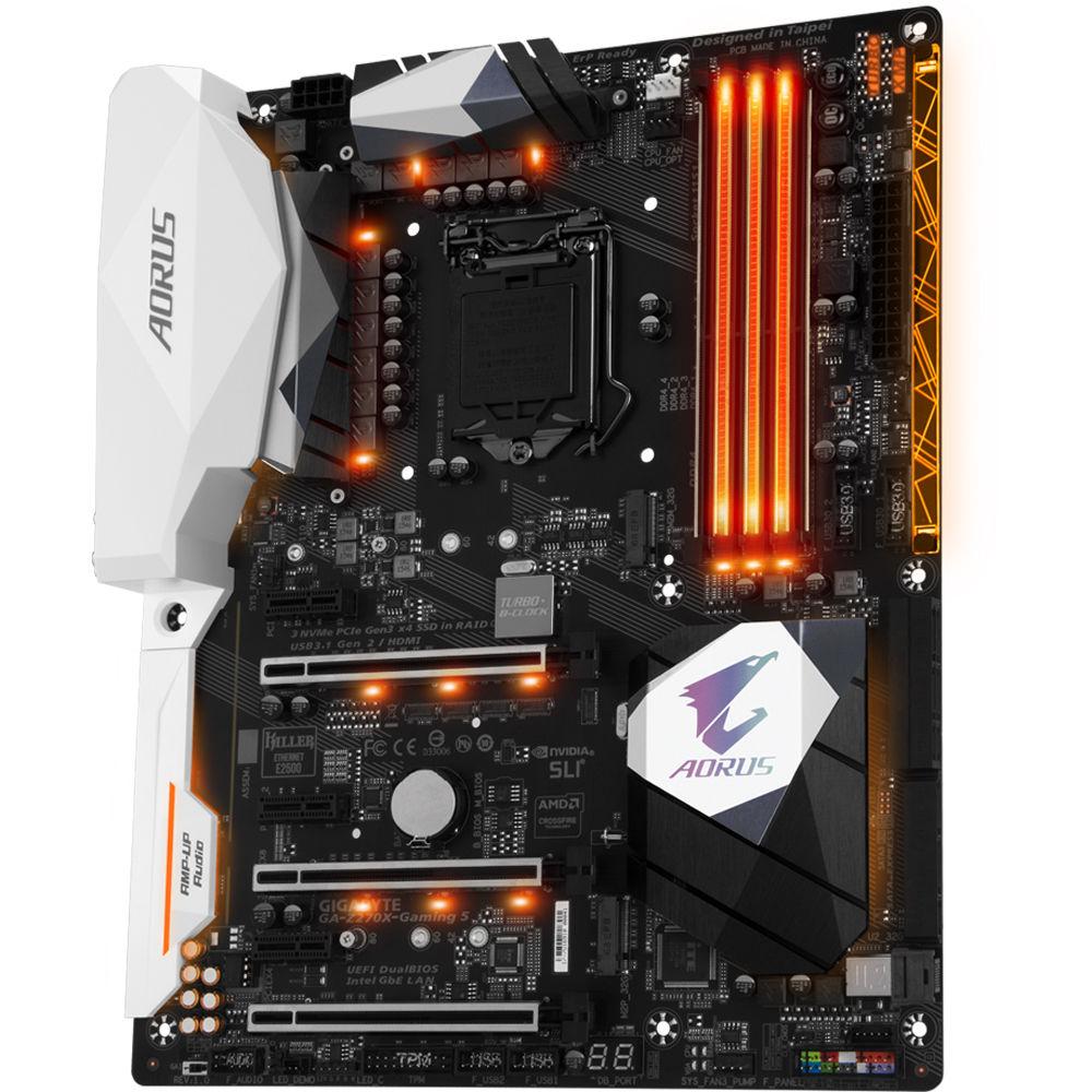 Gigabyte Ga Z270x Gaming 5 Lga 1151 Atx Motherboard