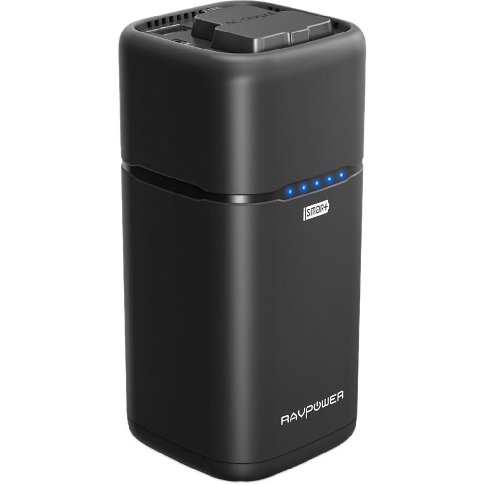 Ravpower 20 100mah Universal Power Bank With Ac Outlet Rp Pb054