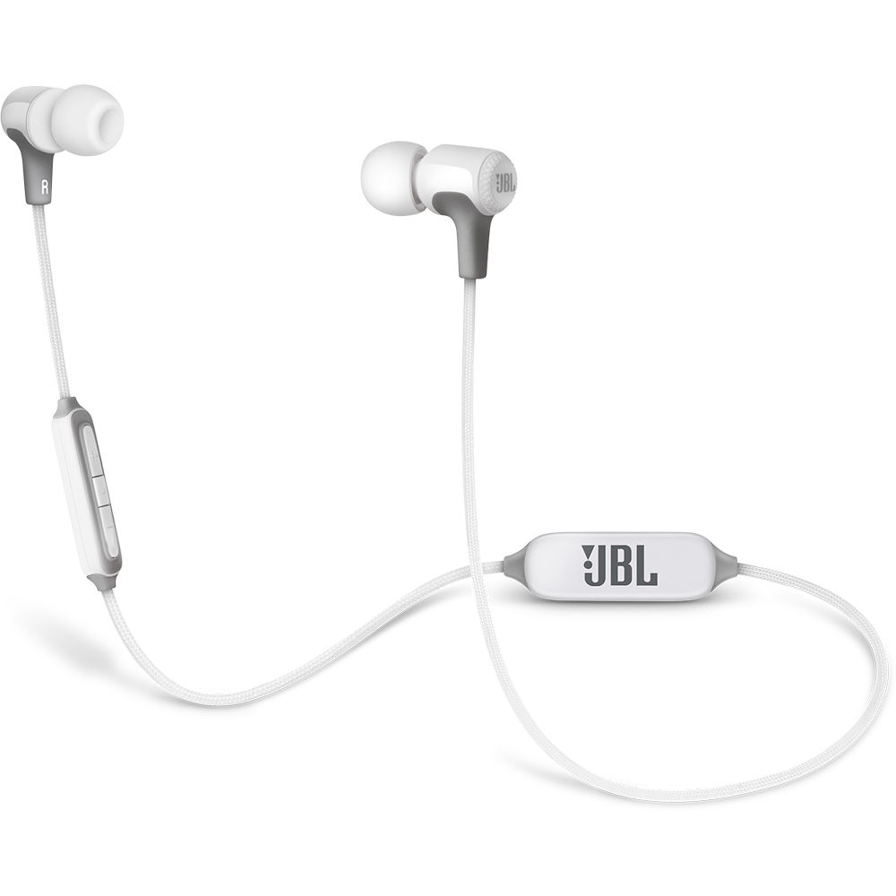 Used Jbl E25bt Bluetooth In Ear Headphones White Jble25btwht