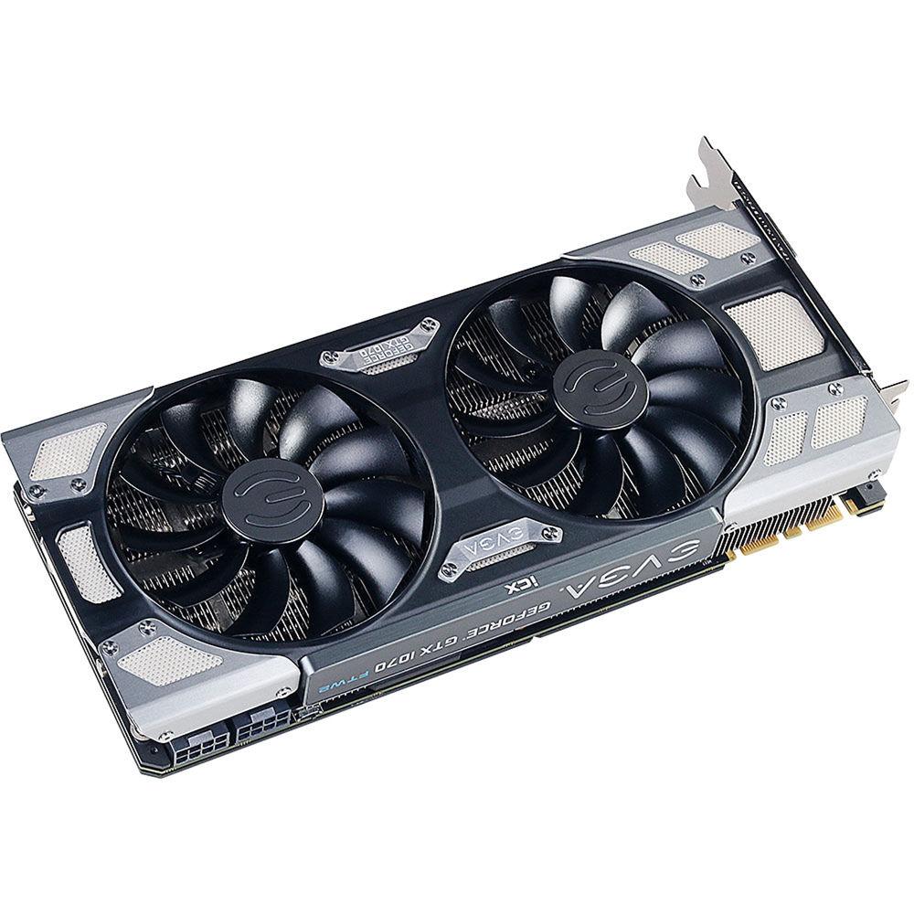 EVGA GeForce GTX 1070 FTW2 GAMING Graphics Card