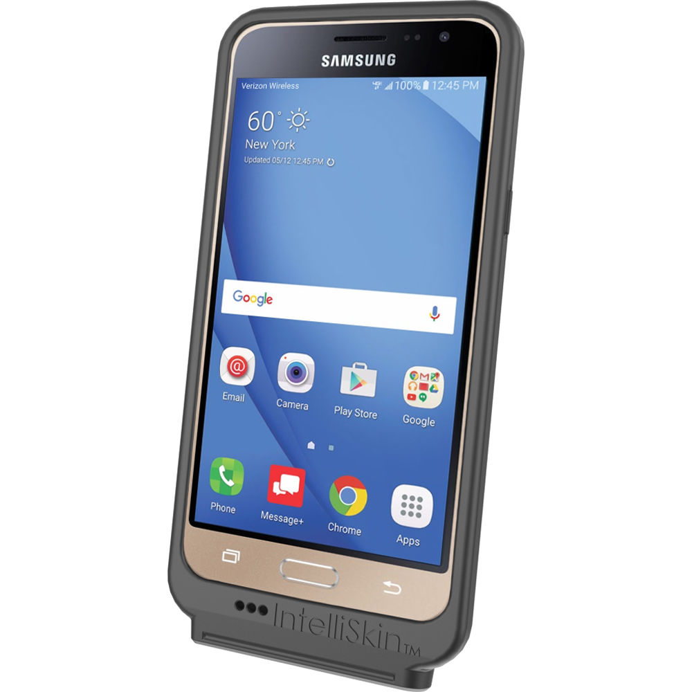 RAM MOUNTS GDS IntelliSkin Case for Samsung Galaxy J3 Smartphone