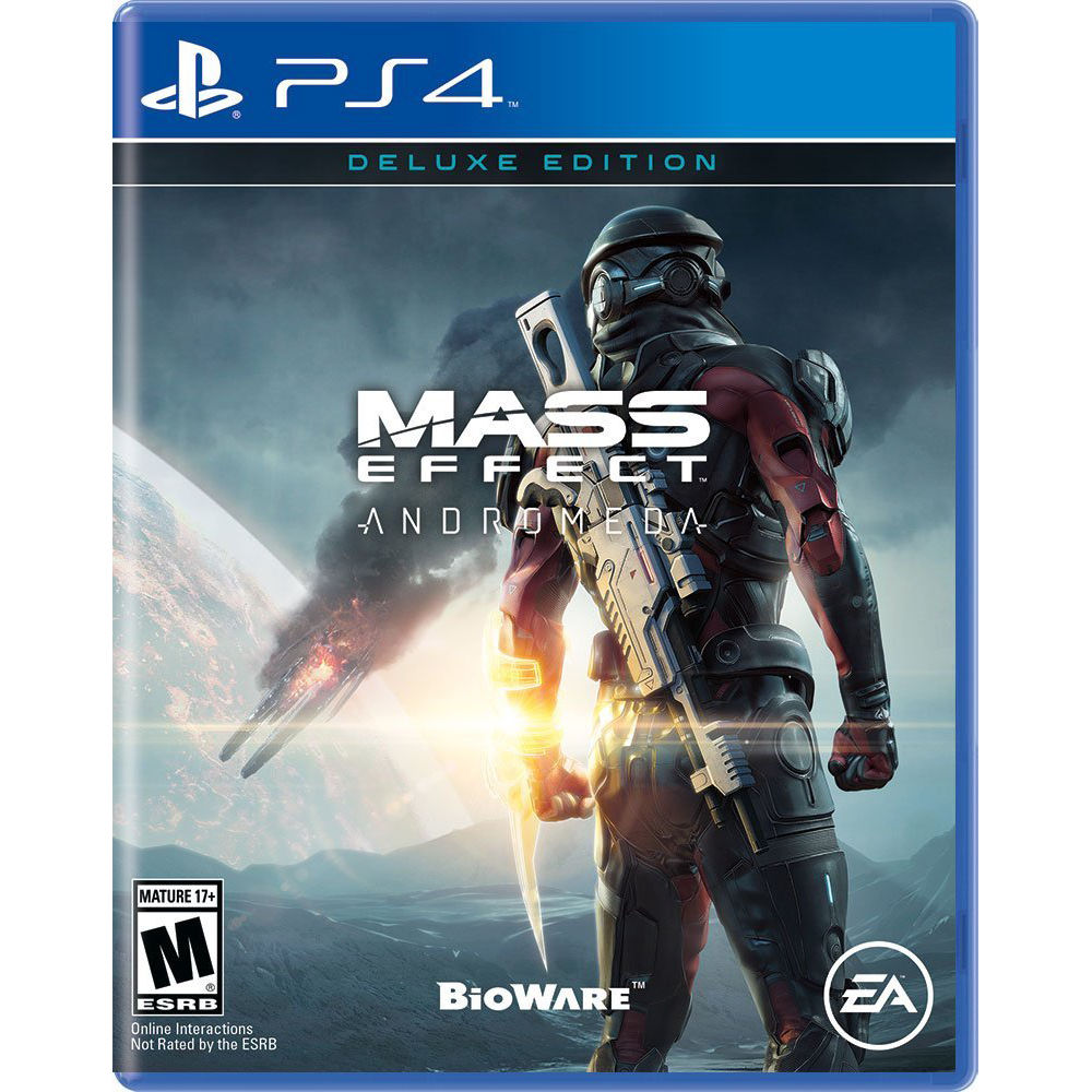 Mass Effect Andromeda Review 2020.Electronic Arts Mass Effect Andromeda Deluxe Edition Ps4