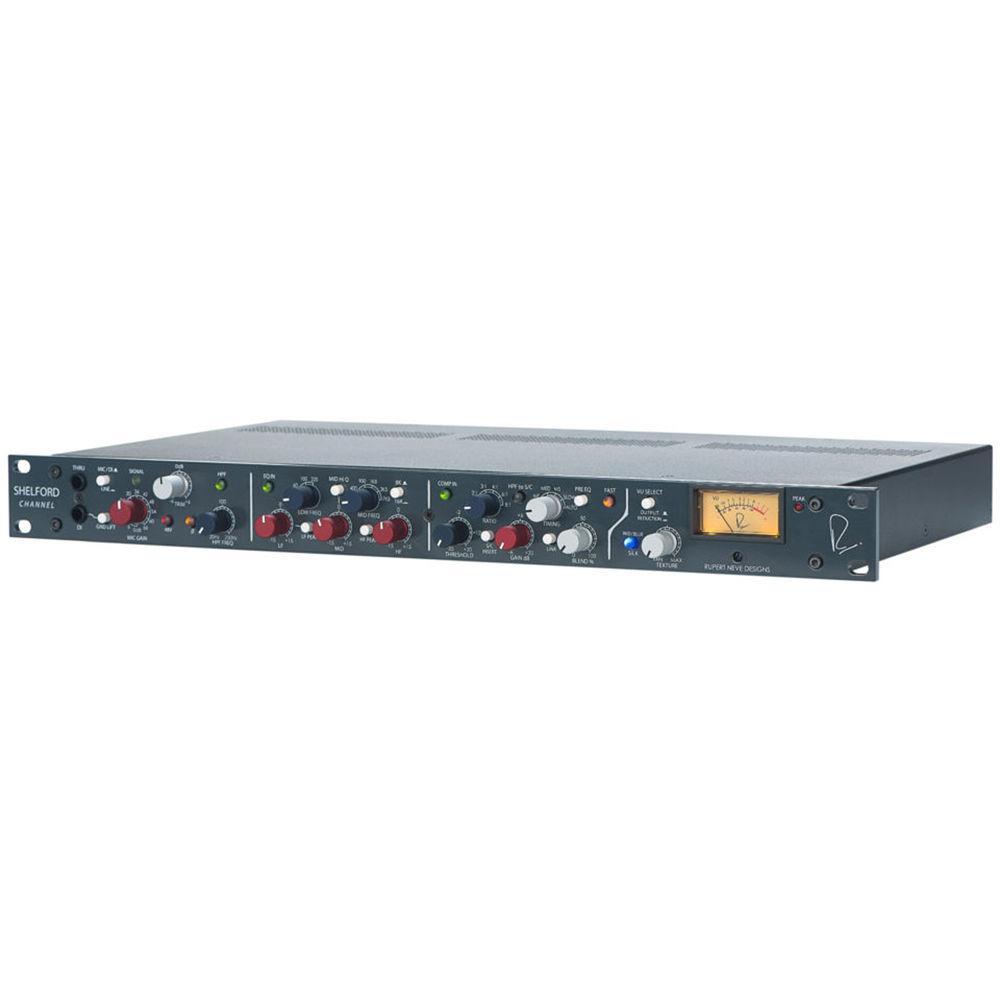 Rupert Neve Designs Shelford Channel Transformer Gain Mic Pre-Amp, Inductor  EQ & Diode Bridge Compressor