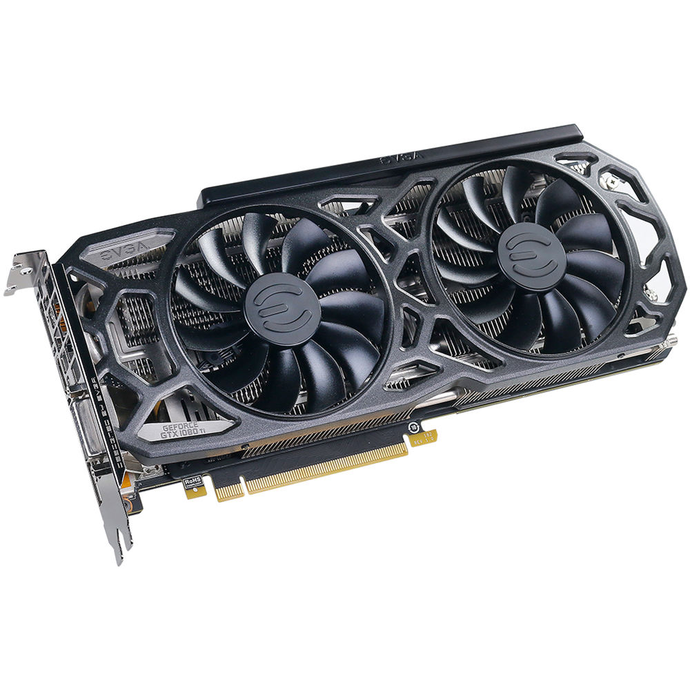 EVGA GeForce GTX 1080 Ti SC GAMING Black Edition Graphics Card