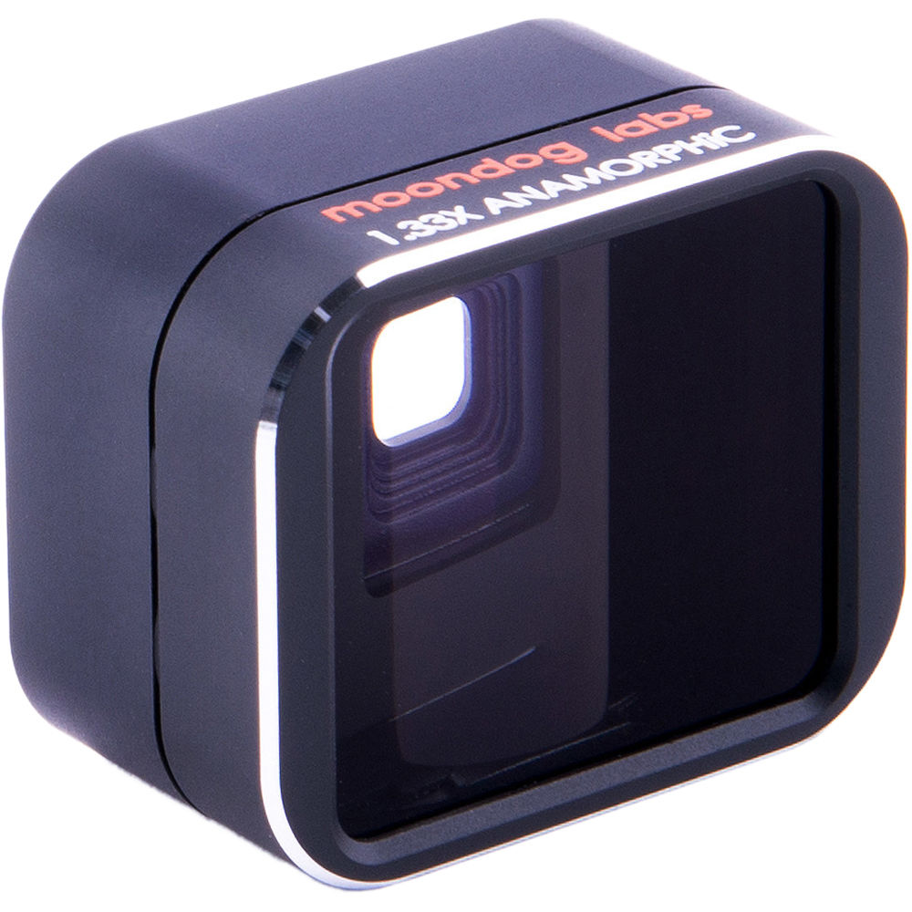 competitive price b5859 94be5 Moondog Labs 1.33x Anamorphic Adapter Lens (iPro Lens System for iPhone)
