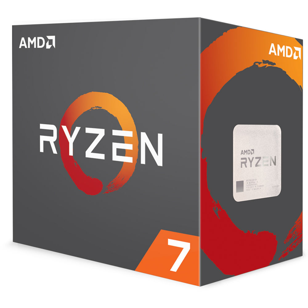 AMD Ryzen 7 1800X 3 6 GHz Eight-Core AM4 Processor
