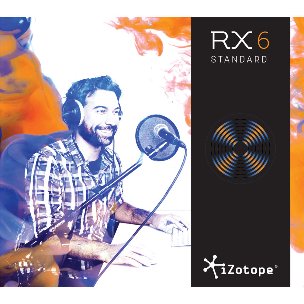 iZotope RX 6 Standard Audio Restoration and Enhancement Software (Download)