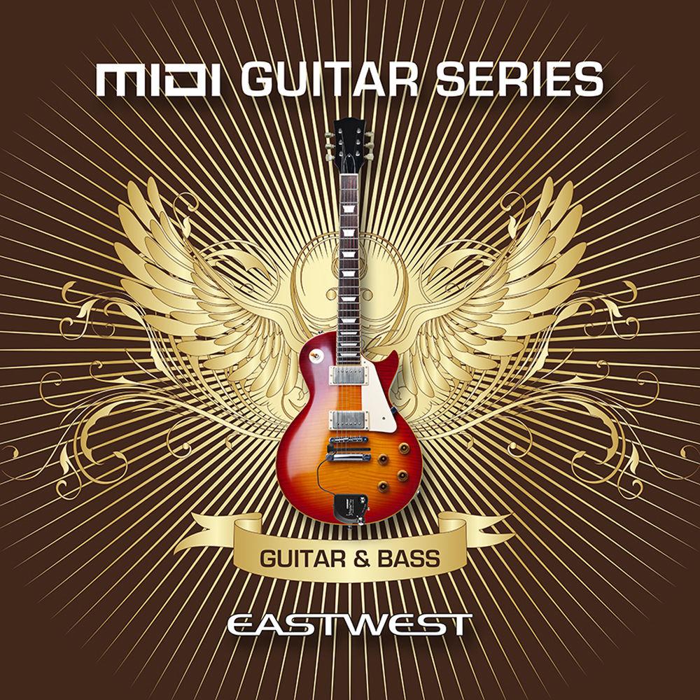 EastWest MIDI Guitar Series Vol 4: Guitar and Bass - Virtual Instrument  (Download)