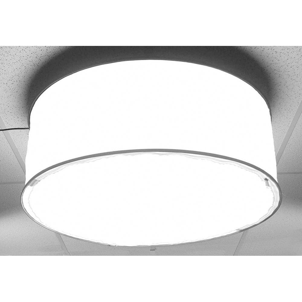 Alzo Drum Overhead Light With 4 Led