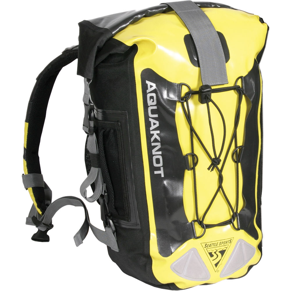 Seattle Sports Aquaknot Dry Backpack 30l Yellow