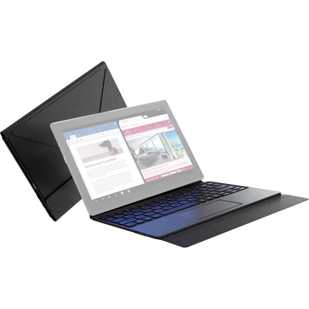 wholesale dealer 5e9b7 8da3c Lenovo Tab 4 10 Bluetooth Keyboard Case (Black)