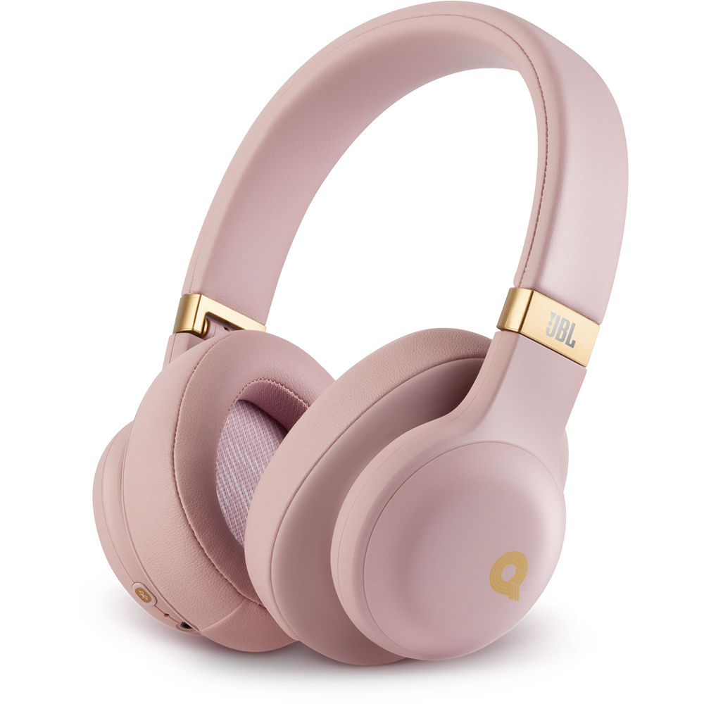 Jbl E55bt Quincy Edition Bluetooth Over Ear Jble55btqepikam B H