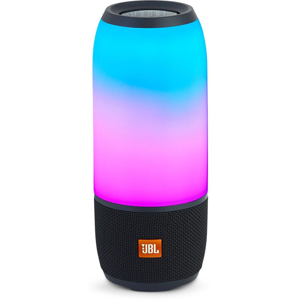 JBL Pulse 3 Portable Bluetooth Speaker (Black)