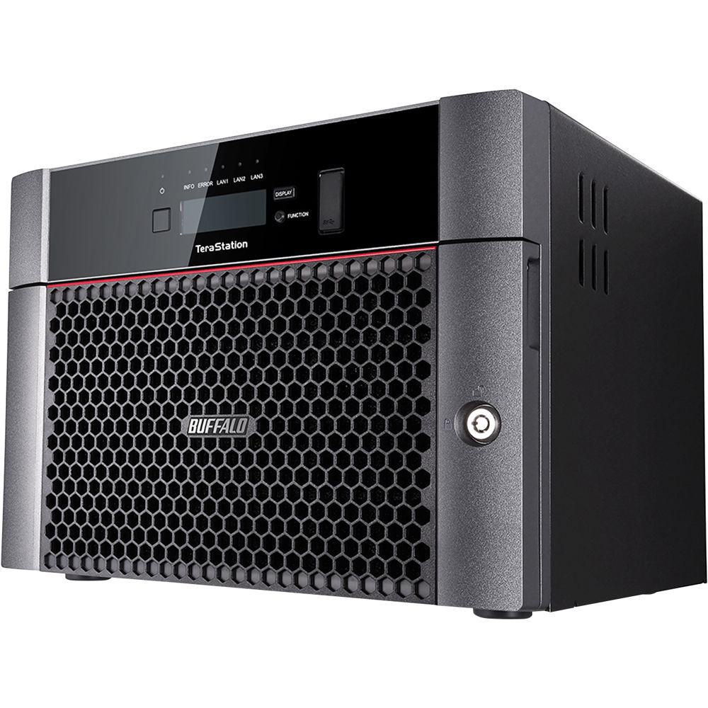 Buffalo TeraStation 64TB 5810DN 8-Bay NAS Server (8 x 8TB)