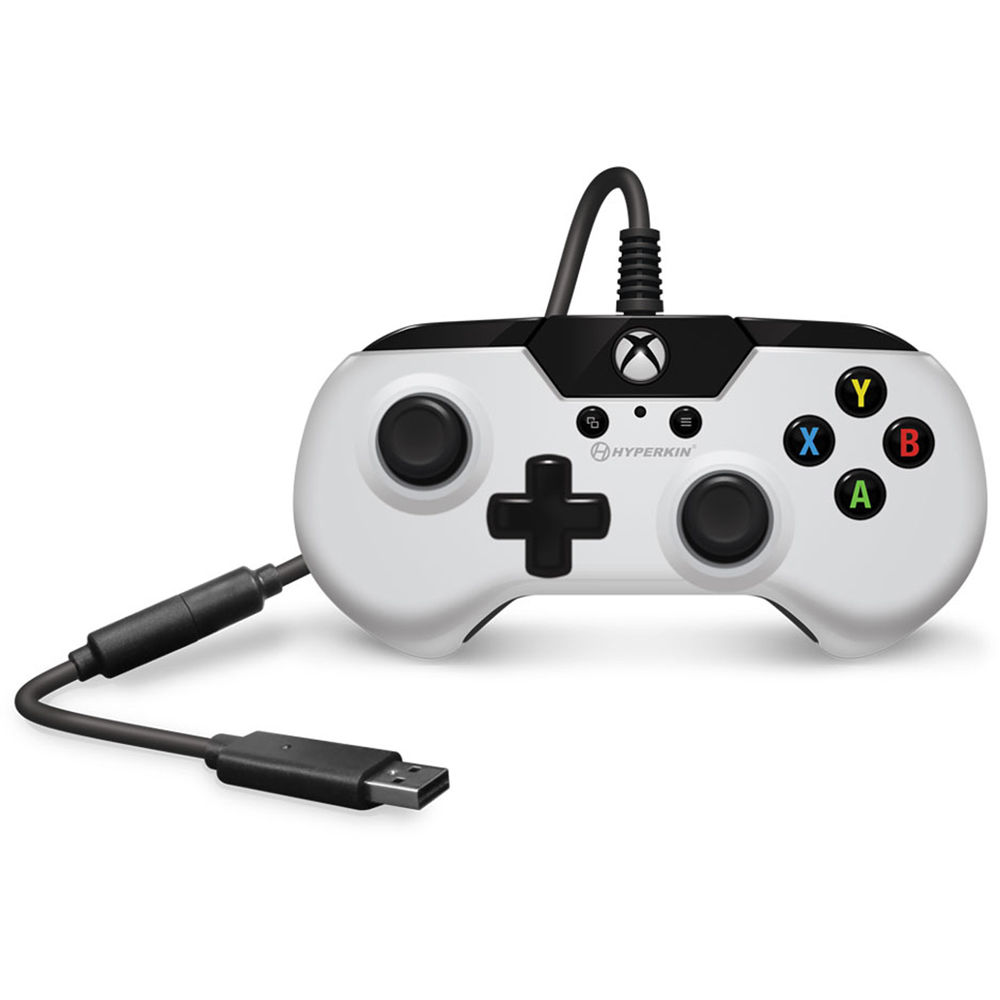 HYPERKIN X91 Wired Controller for Xbox One (White)