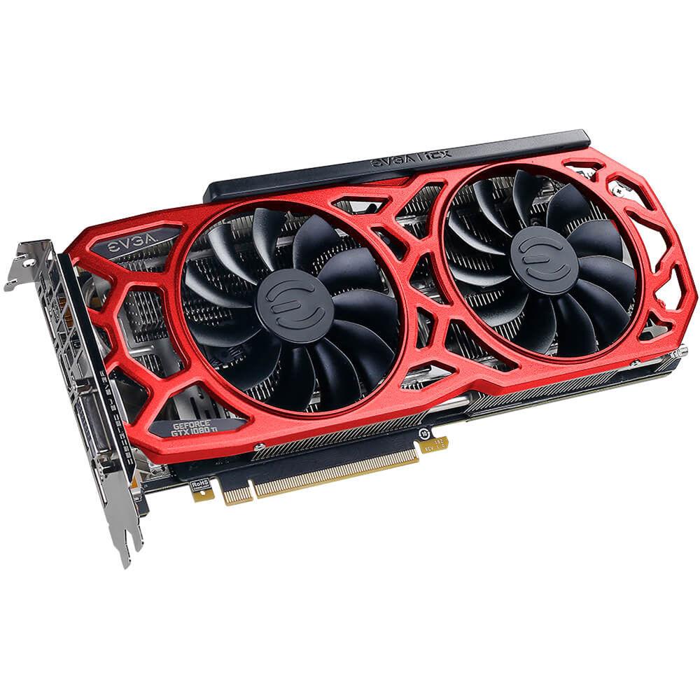EVGA GeForce GTX 1080 Ti SC2 ELITE GAMING RED Graphics Card