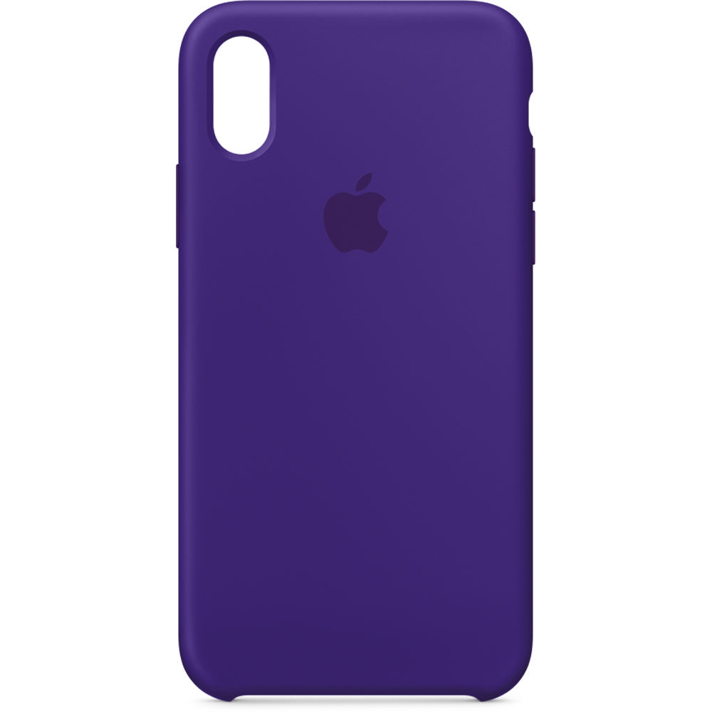sale retailer 65474 420fe Apple iPhone X Silicone Case (Ultra Violet)