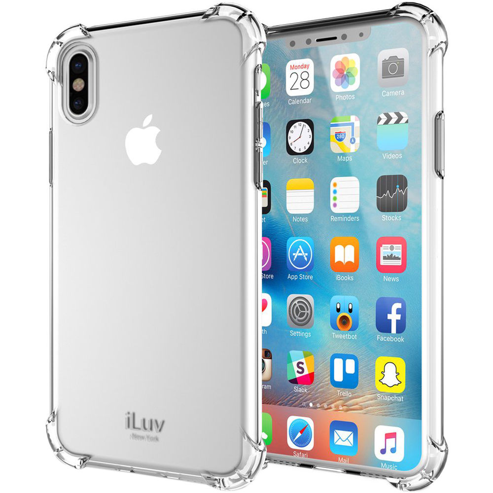 iLuv Gelato Case for iPhone X/Xs (Clear)