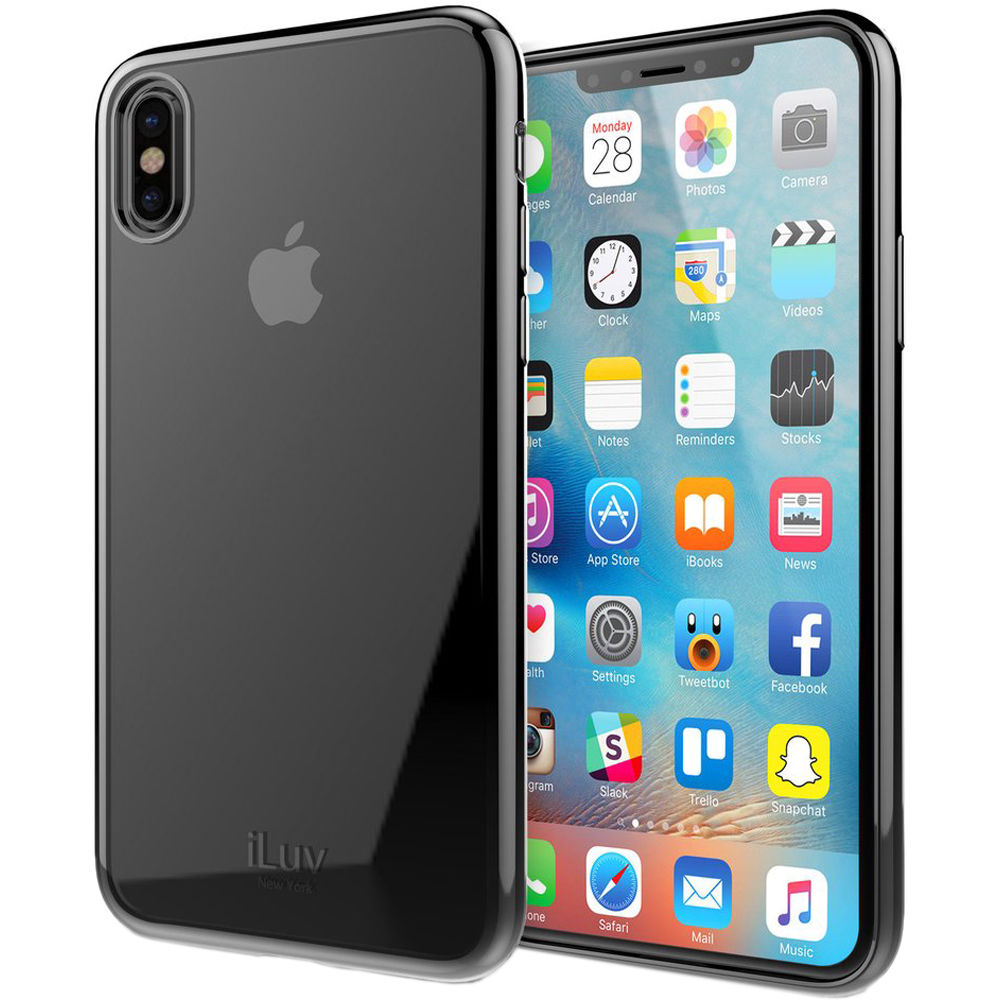 best service b8fc9 00158 iLuv Metal Care Case for iPhone X/Xs (Black)