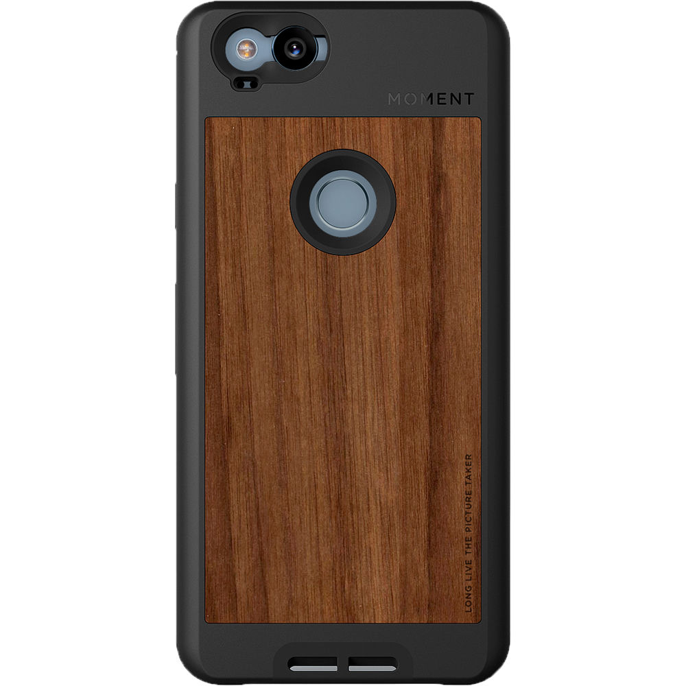 quality design bcad2 aefcc Moment Photo Case for Google Pixel 2 (Walnut)