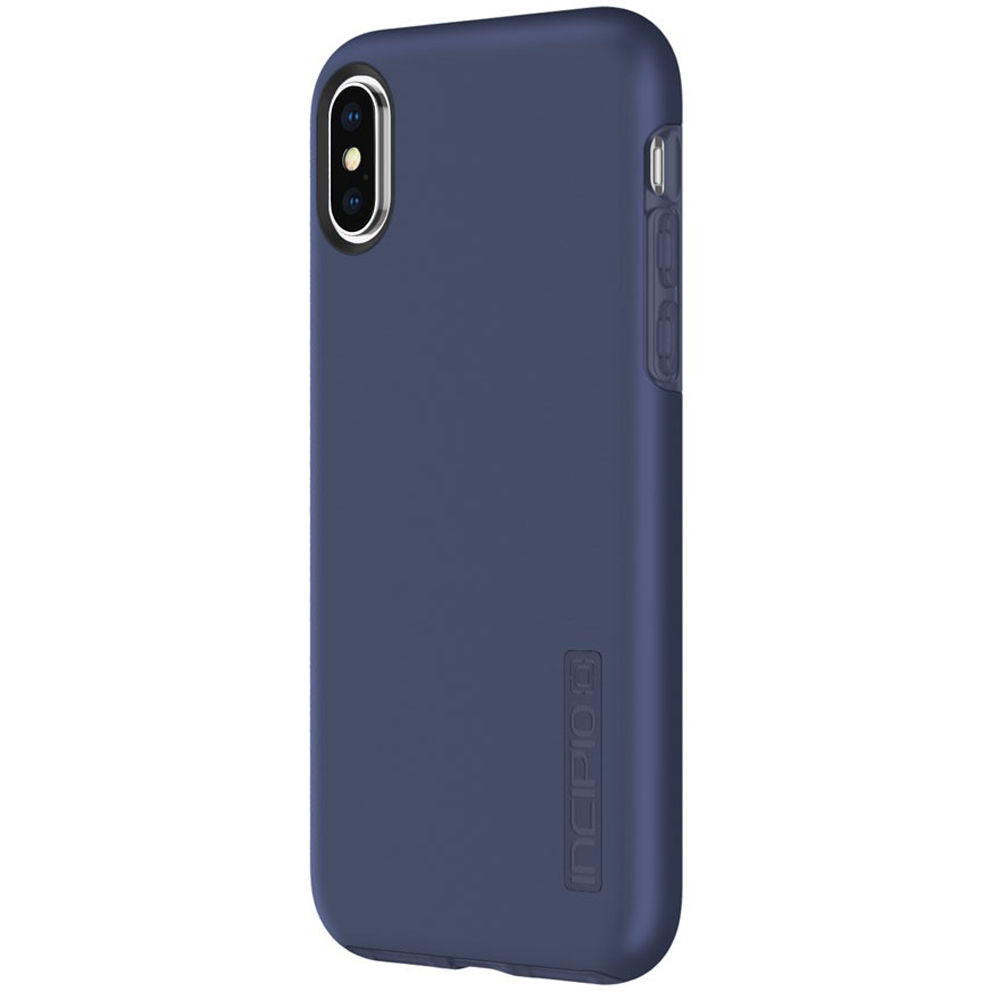 sports shoes 89512 5678c Incipio DualPro Case for iPhone X/Xs (Iridescent Midnight Blue)