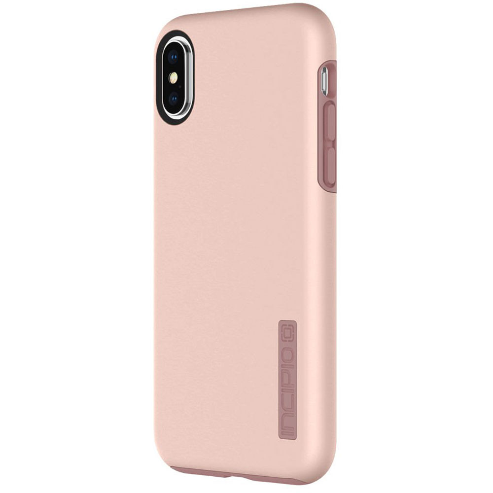 half off f75bf 672bb Incipio DualPro Case for iPhone X/Xs (Iridescent Rose Gold)